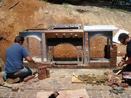 lay the bricks using a basic mortar mix