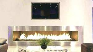 s contemporary fireplace tv stand pacer 56 with soundbar black