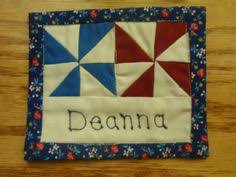 Quilted Name Tag and Lanyard | Guild, There and The guild & From time to time I work a little at my local quilt shop. It is Adamdwight.com