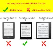 ️ Cực rẻ ️ Bao da máy đọc sách Kindle Paperwhite 4 gen 10 (2019) Well Begun  Divisi Origami giá cạnh tranh
