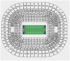 Expository Jones Dome Seating Chart Rams Seating Chart