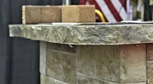 freeform edge concrete countertop form stone