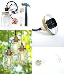 mason jars pendant lamp bell jar light uk