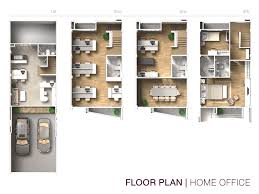 home office plan. New Ideas Home Office Floor Plans With Housetype Of 4 Floors Commercial Building B Avenue Watcharaphol Plan
