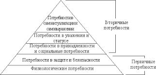 Система мотивации персонала Реферат Бизнес образование Пирамида потребностей А Маслоу
