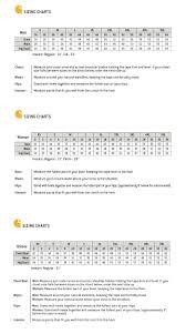 Scrubs Size Chart Carhartt Scrubs Size Chart