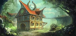 A Fantasy House by mrainbowwj A Fantasy House by mrainbowwj