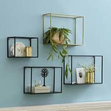 metal wall shelves wood wall shelf