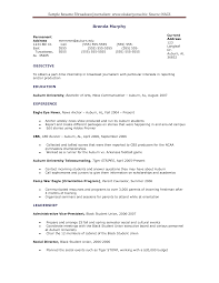 Sample Resume For Journalism Student Augustais