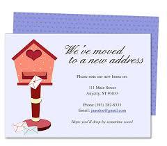 Announcement Postcards Moving Announcements And New Address Announcement Postcards Heart