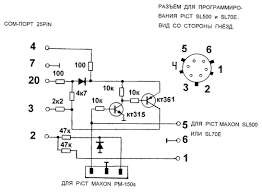 schematics of radios schematic of programmer radio programming schematic of programmer