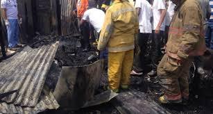 Dos hermanitos murieron calcinados al incendiarse vivienda en municipio Quisqueya, San Pedro de Macorís