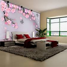 Purple Flower Wallpaper For Bedroom Popular Floral Wallpapers Buy Cheap Floral Wallpapers Lots From