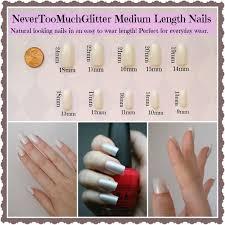 Acrylic Nails Length Chart New Expression Nails