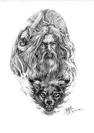 викинг ульфхеднар арт для тату Art эскиз тату татуировки и тату