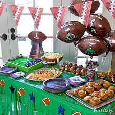 Cheap Super Bowl Decorations Chloe's Celebrations Superbowl Party Planning Celebrate Decorate 4