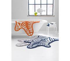 Zebra Bathroom Rug Home Carolines Mode