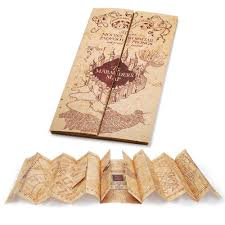 marauder's map by noble collection  harrypottershopcom