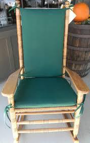 green er barrel rocking chair cushions