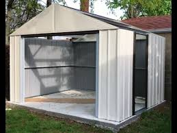 victa treco garden shed instructions