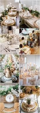 Winter Wedding Decor Winter Wedding Decor Ideas Winter Wedding Table Settings Deer