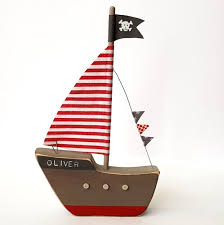 personalised pirate ship pirate bedroom