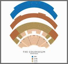 Colosseum Windsor Seating Chart Caesars Windsor Seating Chart Unusual Colosseum Windsor