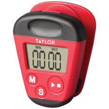 taylor precision s 5875 kitchen clip timer with extra strong magnet