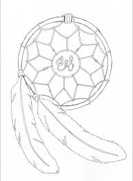 Small Picture Dreamcatcher Coloring Pages Printable of Dream Catcher Coloring