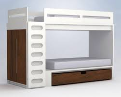 above from ducduc the alex bunk bed system includes an upper bunk that sits atop an armoire and a lower bunk over a large storage drawer bunk bed steps casa kids