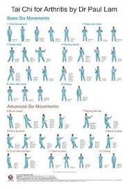 Tai Chi For Arthritis Wall Chart Tai Chi For Beginners