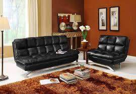 mainstays connectrix faux leather futon