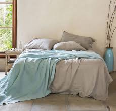 cool bed sheets for summer. Brilliant Bed Rough Linen  Bedding Blanket Lightweight Cool Smooth Summer Cover St  Barts Aqua Intended Bed Sheets For D