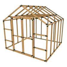 e z frames 10x10 storage shed kit