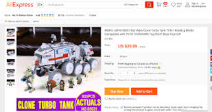 2016 - How to buy Fake Lego on AliExpress