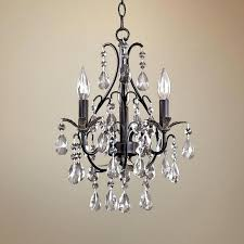 plug in small chandelier plug in mini chandeliers with crystals