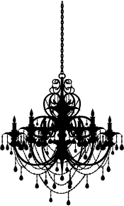 chandelier wall art