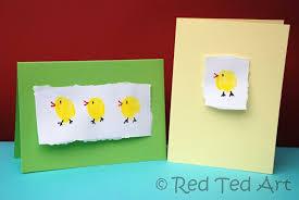 toddler easter cards finger print