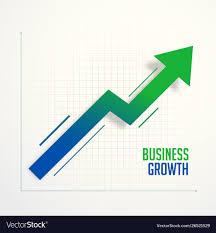Arrow Chart Business Growth Steps Chart Arrow Concept