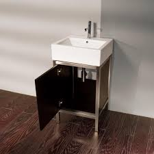 "19"" Lacava QUADRO STEEL 7774 Bathroom Vanity Bathroom Vanities"
