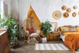 mexican style boho chic space