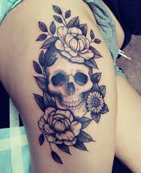 Women S Thigh Tattoos Designs 50 Summer Sunflower Tattoos Design And Ideas Thigh Tattoo