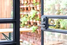 steel framed door steel framed glass doors steel frame doors open black steel framed glass doors