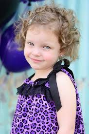 Toddler Curly Hairstyles Isabelle Frankies Cousin Dylans Daughter Sol Board