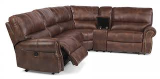 Fabric Power Reclining Sectional