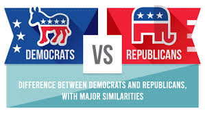 Difference Between Democratic And Republican Party With