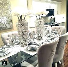 Centerpieces For Dining Room Tables Jerryrivas Simple Dining Room Table Decorating
