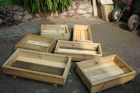 flower planters boxes all brand new