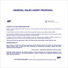 Sales Proposal Template 19 Free Sample Example Format