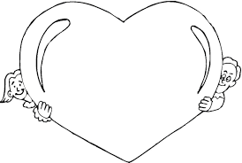 Small Picture Hearts Coloring Pages Valentine Hearts Kids Zone At Penny Heart